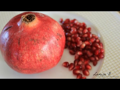 How To De-seed A Pomegranate  (No Bowl Of Water) | Episode 79