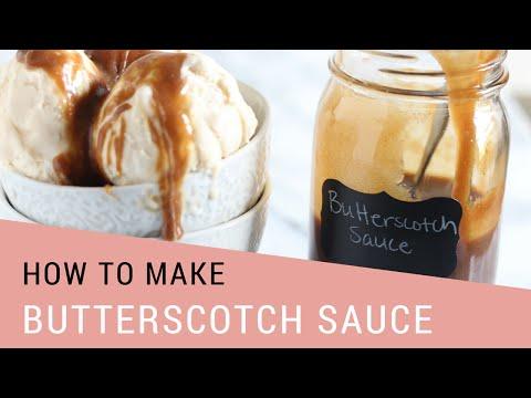 How to Make Butterscotch Sauce | 10 Minute Recipe