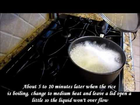 How to Cook Asian Sticky Rice on a Stove Top Oven by Omma's Kitchen