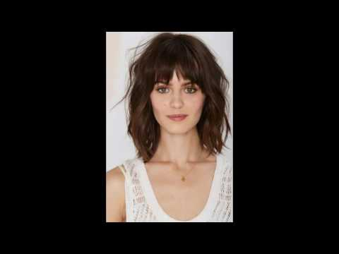 30 Long Hairstyles With Fringe For Oval Face | Long Hairstyles With Fringe And Layers