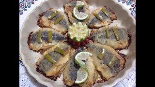 #x202b;السردين معمر في الفرن بطريقة صحية ،سهلة و سريعة Sardines Farcies Au Four#x202c;lrm;