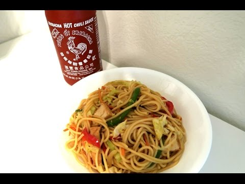 How to Make CHOW MEIN (vegetarian)