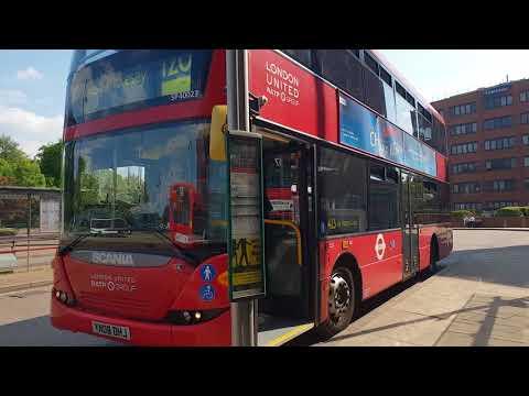 Blind change on London United RATP Group SP40023 (YN08 DHJ)
