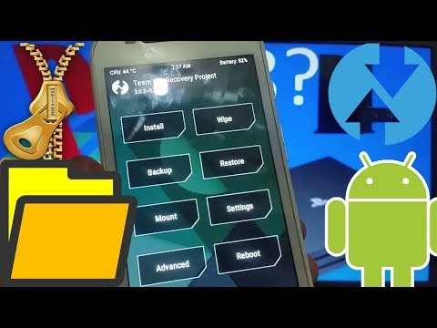 How To Flash Zip Files Using TWRP Recovery (SU binary)