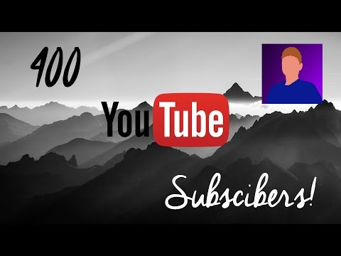 400 SUBSCRIBER SPECIAL!