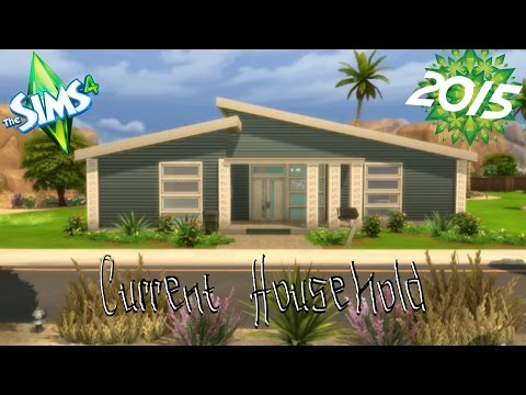 The Sims 4 - Current household - January 2015