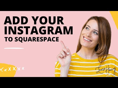 How to Add Your Instagram to Squarespace
