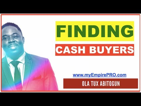 Finding CASH Buyers in Wholesaling Real Estate + 3 GARY VEE Tips