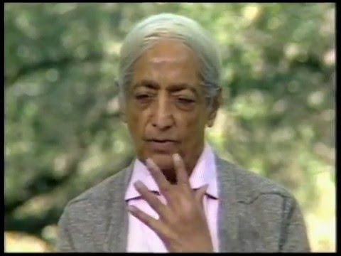 What can one do to nourish attention? | J. Krishnamurti