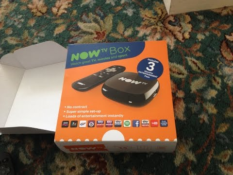 Sky nowTV setup (UK) - how to guide