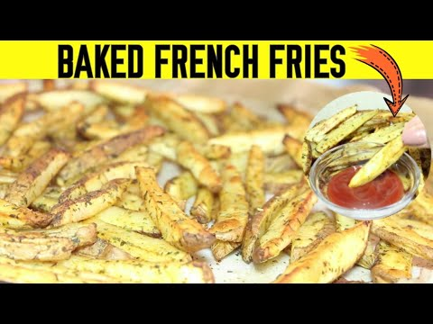 BAKED FRENCH FRIES 🍟| BEST RECIPE