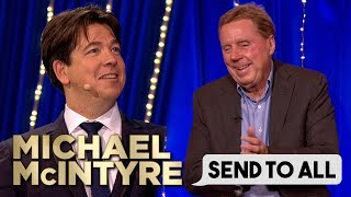 Harry Redknapp Has Fun With Emojis! 😂 | Send To All | Michael McIntyre's Big Show