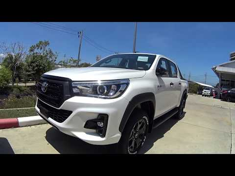 Toyota FORTUNER, HILUX Rocco, CHR   2018 SUV, PICKUP, CROSSOVER
