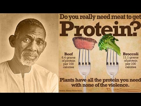 Dr. Sebi - The Protein Food Myth (Clip)