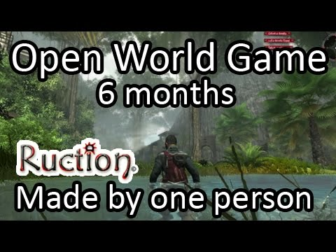 Open World Game I'm building: Ruction - Unity engine - 6 months