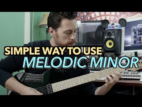 Simple Way To Use Melodic Minor