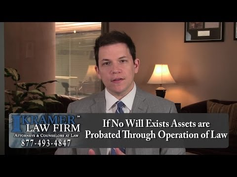 Orlando Probate Attorney - What Happens if You Do Not Have a Will and You Die?