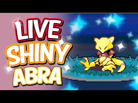 Live Shiny Abra After 12,698 REs - SBQ #10 - Pokemon Heart Gold