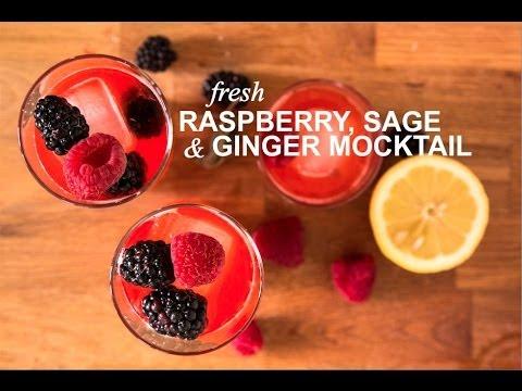 Fresh Raspberry, Sage & Ginger Mocktail | Farm to Table Family | PBS Parents