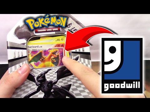 Pokemon Cards FOUND at GOODWILL Thrift Store!?