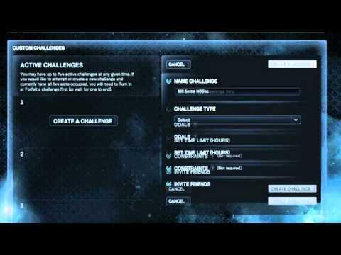 Halo: Reach Custom Challenges Tutorial - Rank Up Fast!