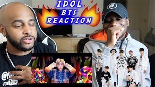 BTS (방탄소년단) 'IDOL' Official MV | BEST VISUALS EVER!! | REACTION