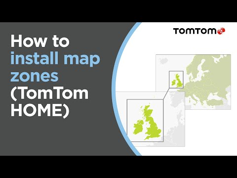How to install Map Zones using TomTom HOME (Europe Map)