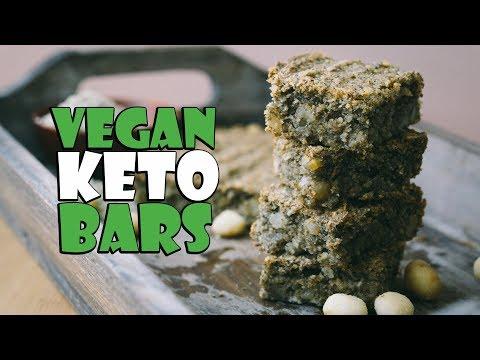 Dairy Free Keto Bars | Vegan Keto Recipes