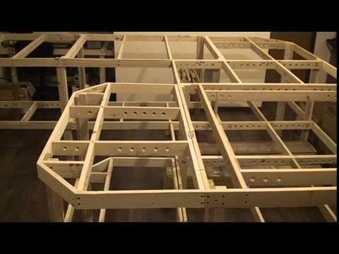 MWRR  N Scale Model Train Layout -  bench work - Video  #1
