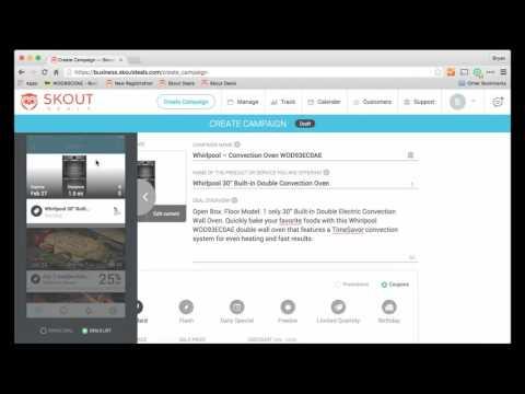 Skout Deals Skout Deals Merchant Dashboard Demo