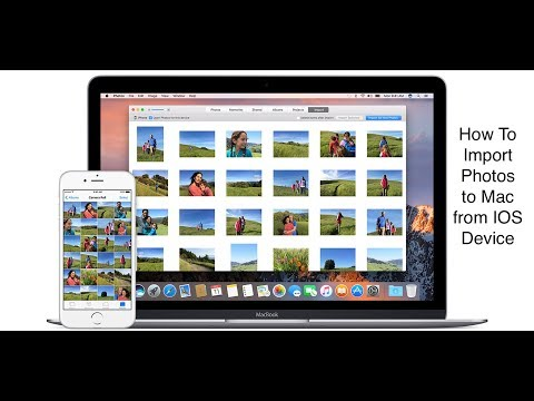 How To: Import Photos from IOS Device to a Mac