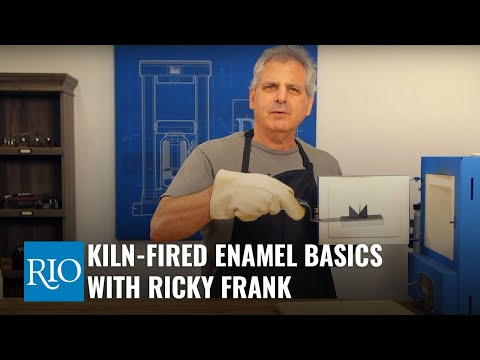 Kiln-Fired Enamel Basics - With Ricky Frank