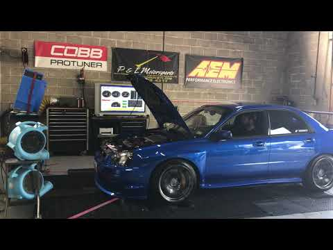 2004 Subaru STI stage 2 COBB dyno