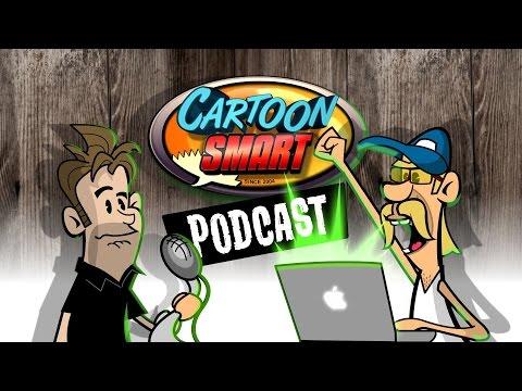 How to Draw a Logo Part 1 (CartoonSmart Video Tutorial Podcast Ep. 17)