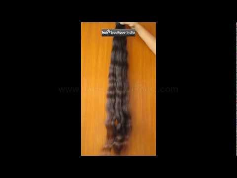 Remy Virgin Hair Extensions Indian Wavy Wholesale Human Hair Supplier