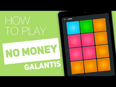 How to play: NO MONEY (Galantis) - SUPER PADS -  Broken Kit