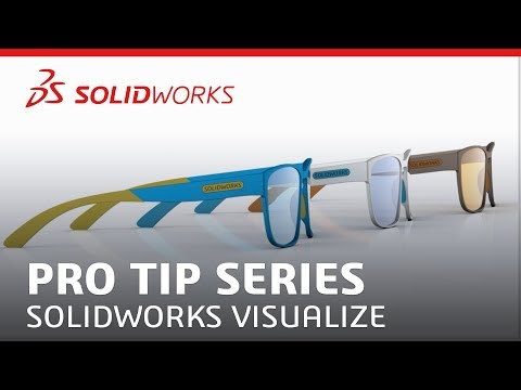 Download SOLIDWORKS Visualize Pro Tip Series - Episode 1