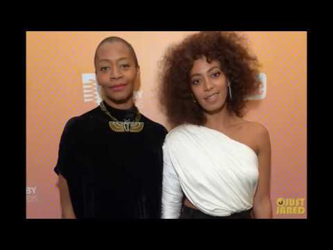 Solange Knowles Gives Five-Word Speech At 2017 Webby Awards