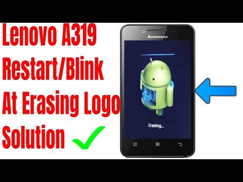 Lenovo A319 Blink At Erasing Logo Recover Repair Done