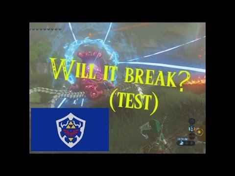 BotW- Can you break the Hylian Shield?