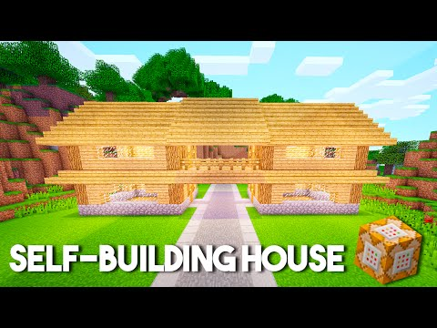 SELF-BUILDING Command Block House