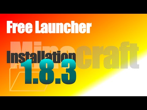 Free Launcher 1.8.3 (cracked, non-premium) - How To Install [Shiginima] for Minecraft 1.8.3