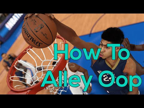 NBA 2k15 - How To Throw An Alley Oop