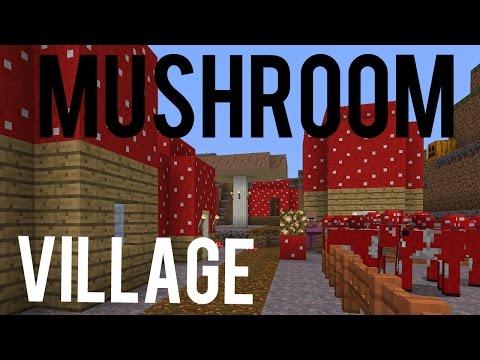 Mushroom Village in Minecraft