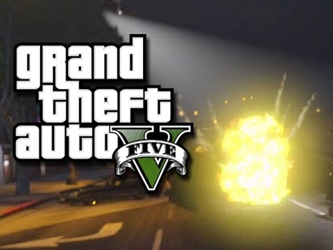 GTA 5 Online! The Crew vs The Cops! #2 (GTA V Multiplayer Skits and Funny Moments!)