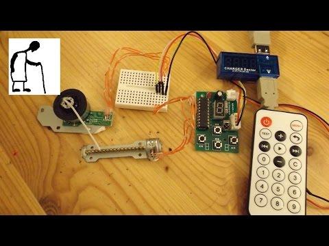 Stepper Motor Driver & Remote Control