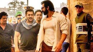 Salman Khan @ Abu Dhabi With Nawaab Shah - Tiger Zinda Hai On Location