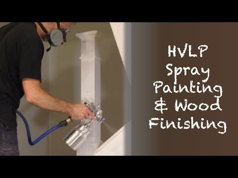 How to HVLP Spray Paint Stairs & Wainscoting (Staircase Renovation Episode 3)