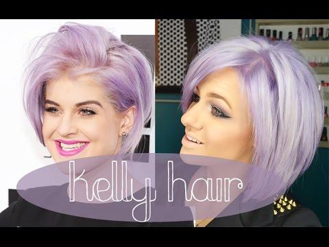 HOW TO: Kelly Osbourne hair | Lilac Lavander Purple Hair