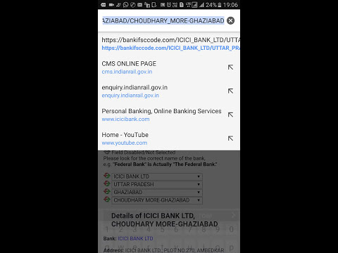How to find ifsc code of any bank